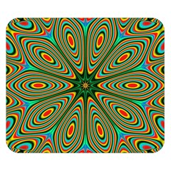 Vibrant Seamless Pattern  Colorful Double Sided Flano Blanket (small)  by Simbadda