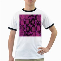 Self Similarity And Fractals Ringer T Shirts by Simbadda