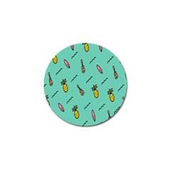 Guitar Pineapple Golf Ball Marker (4 Pack) by Alisyart