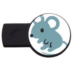 Mouse Usb Flash Drive Round (4 Gb) by Alisyart