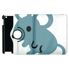 Mouse Apple Ipad 3/4 Flip 360 Case by Alisyart