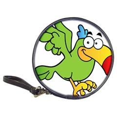 Parrot Cartoon Character Flying Classic 20 Cd Wallets by Alisyart