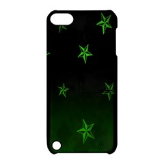 Nautical Star Green Space Light Apple Ipod Touch 5 Hardshell Case With Stand by Alisyart