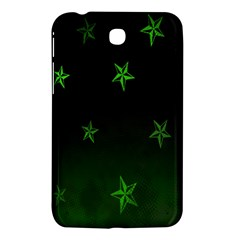 Nautical Star Green Space Light Samsung Galaxy Tab 3 (7 ) P3200 Hardshell Case  by Alisyart