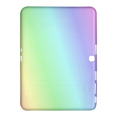 Multi Color Pastel Background Samsung Galaxy Tab 4 (10 1 ) Hardshell Case  by Simbadda