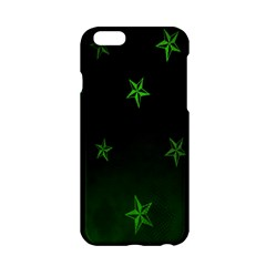 Nautical Star Green Space Light Apple Iphone 6/6s Hardshell Case by Alisyart