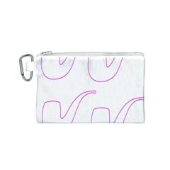 Pipe Template Cigarette Holder Pink Canvas Cosmetic Bag (s) by Alisyart