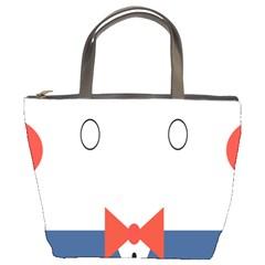 Peppermint Butler Wallpaper Face Bucket Bags by Alisyart