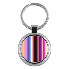 Multi Color Vertical Background Key Chains (Round)  by Simbadda