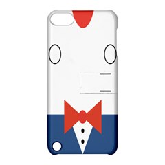 Peppermint Butler Wallpaper Face Apple Ipod Touch 5 Hardshell Case With Stand by Alisyart