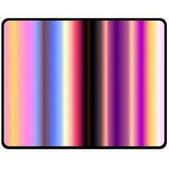 Multi Color Vertical Background Fleece Blanket (medium)  by Simbadda