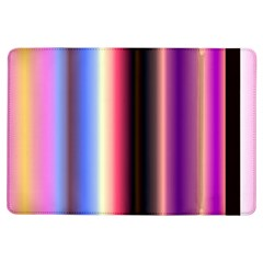 Multi Color Vertical Background Ipad Air Flip by Simbadda