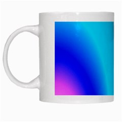 Multi Color Stones Wall Multi Radiant White Mugs by Simbadda