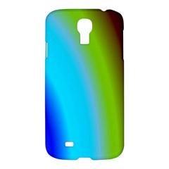 Multi Color Stones Wall Multi Radiant Samsung Galaxy S4 I9500/i9505 Hardshell Case by Simbadda