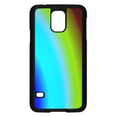 Multi Color Stones Wall Multi Radiant Samsung Galaxy S5 Case (black) by Simbadda