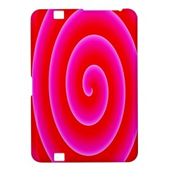 Pink Hypnotic Background Kindle Fire Hd 8 9  by Simbadda