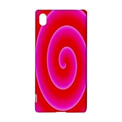 Pink Hypnotic Background Sony Xperia Z3+ by Simbadda