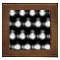 Black And White Modern Wallpaper Framed Tiles by Simbadda