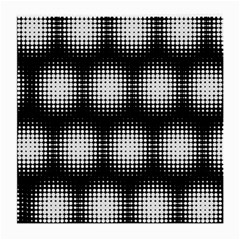 Black And White Modern Wallpaper Medium Glasses Cloth (2 Side) by Simbadda