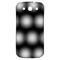 Black And White Modern Wallpaper Samsung Galaxy S3 S Iii Classic Hardshell Back Case by Simbadda