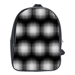 Black And White Modern Wallpaper School Bags (xl)  by Simbadda