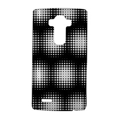 Black And White Modern Wallpaper LG G4 Hardshell Case by Simbadda