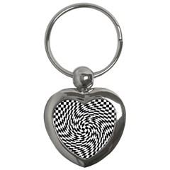 Whirl Key Chains (heart)  by Simbadda