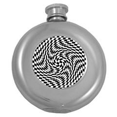 Whirl Round Hip Flask (5 Oz) by Simbadda