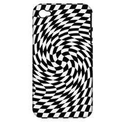 Whirl Apple Iphone 4/4s Hardshell Case (pc+silicone) by Simbadda
