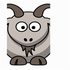 Goat Sheep Animals Baby Head Small Kid Girl Faces Face Large Garden Flag (two Sides) by Alisyart