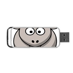 Goat Sheep Animals Baby Head Small Kid Girl Faces Face Portable Usb Flash (two Sides) by Alisyart