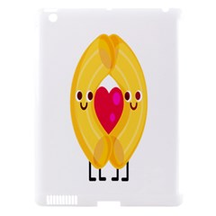 Say Pasta Love Apple Ipad 3/4 Hardshell Case (compatible With Smart Cover) by Alisyart