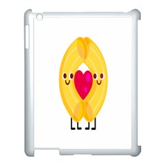 Say Pasta Love Apple Ipad 3/4 Case (white) by Alisyart