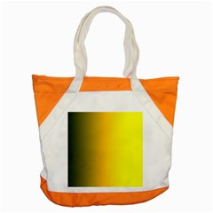 Yellow Gradient Background Accent Tote Bag by Simbadda