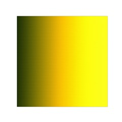 Yellow Gradient Background Small Satin Scarf (square) by Simbadda