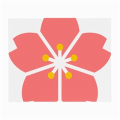 Sakura Heart Guild Flower Floral Small Glasses Cloth (2 Side) by Alisyart