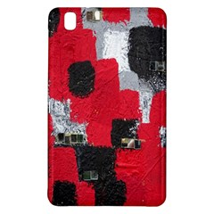 Red Black Gray Background Samsung Galaxy Tab Pro 8 4 Hardshell Case by Simbadda