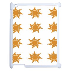 Sun Cupcake Toppers Sunlight Apple Ipad 2 Case (white) by Alisyart