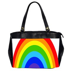 Rainbow Office Handbags (2 Sides)  by Alisyart