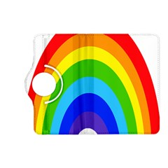 Rainbow Kindle Fire Hd (2013) Flip 360 Case by Alisyart
