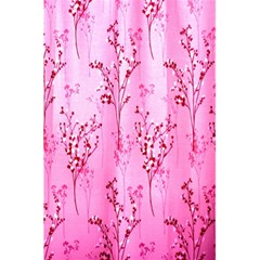 Pink Curtains Background 5 5  X 8 5  Notebooks by Simbadda