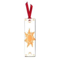 Sunlight Sun Orange Small Book Marks by Alisyart