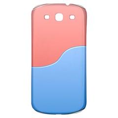 Taekwondo Sign Red Blue Samsung Galaxy S3 S Iii Classic Hardshell Back Case by Alisyart