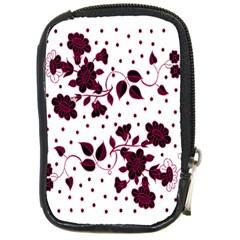 Floral Pattern Compact Camera Cases by Simbadda