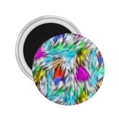Fur Fabric 2 25  Magnets by Simbadda