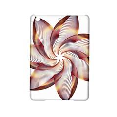 Prismatic Flower Line Gold Star Floral Ipad Mini 2 Hardshell Cases by Alisyart