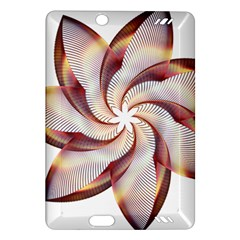Prismatic Flower Line Gold Star Floral Amazon Kindle Fire Hd (2013) Hardshell Case by Alisyart