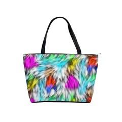 Fur Fabric Shoulder Handbags by Simbadda