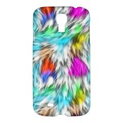 Fur Fabric Samsung Galaxy S4 I9500/i9505 Hardshell Case by Simbadda