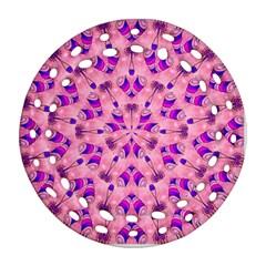 Mandala Tiling Round Filigree Ornament (two Sides) by Simbadda